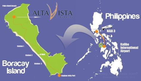 philippine boracay map