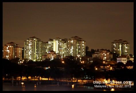Putrajay Skyline at Night