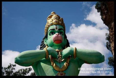 Hanuman Statue Rama Heart