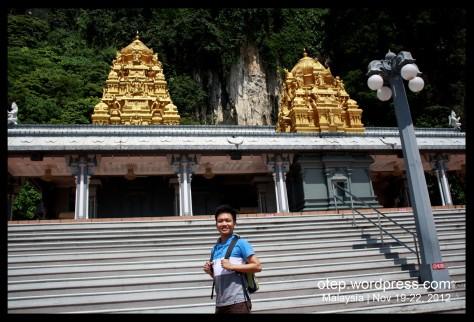 Batu Caves Entrance Shrine