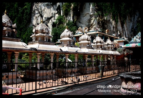 Doves in Batu Caves