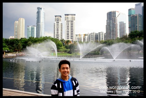KLCC Park Fountain