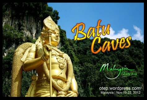 Statue of Murugan Batu Caves