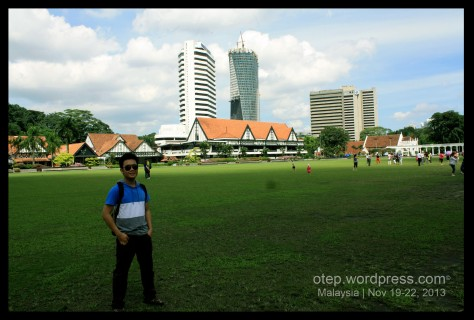 Royal Selangor Club @ my back