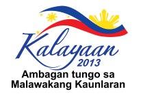 kalayaan 2013 Ambagan tungo sa malawakang kaunlaran