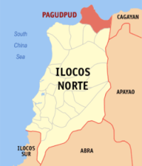 Pagudpud Map