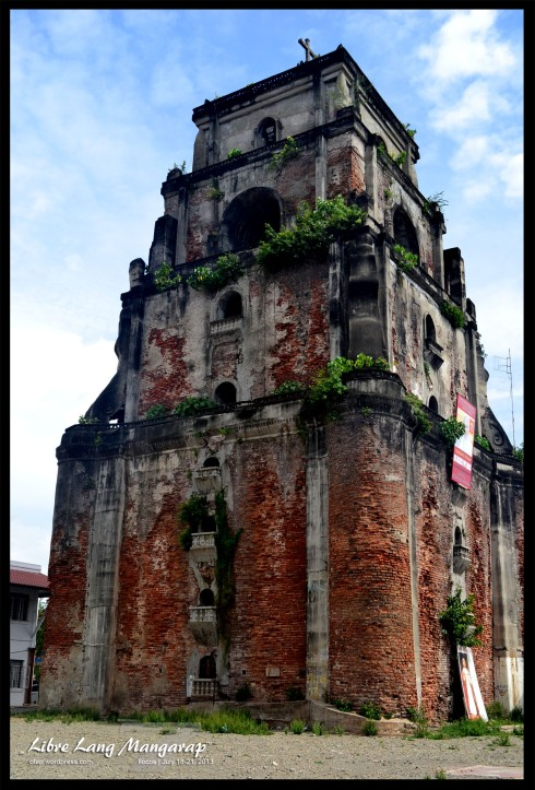 Shrinking Bell Tower Laoag, Ilocos Norte
