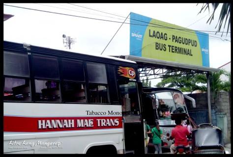 laoag to pagudpud Bus Terminal